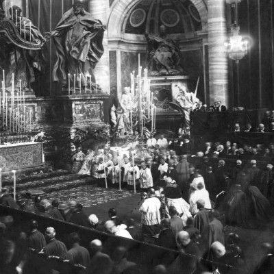 1909 Vaticaan, Rome Pius X, Paus, Jeanne d'Arc