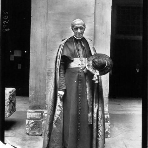 La canonisation de Jeanne d'Arc à Rome le cardinal Mercier