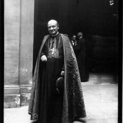 La canonisation de Jeannee d'Arc à Rome le cardinal Annette