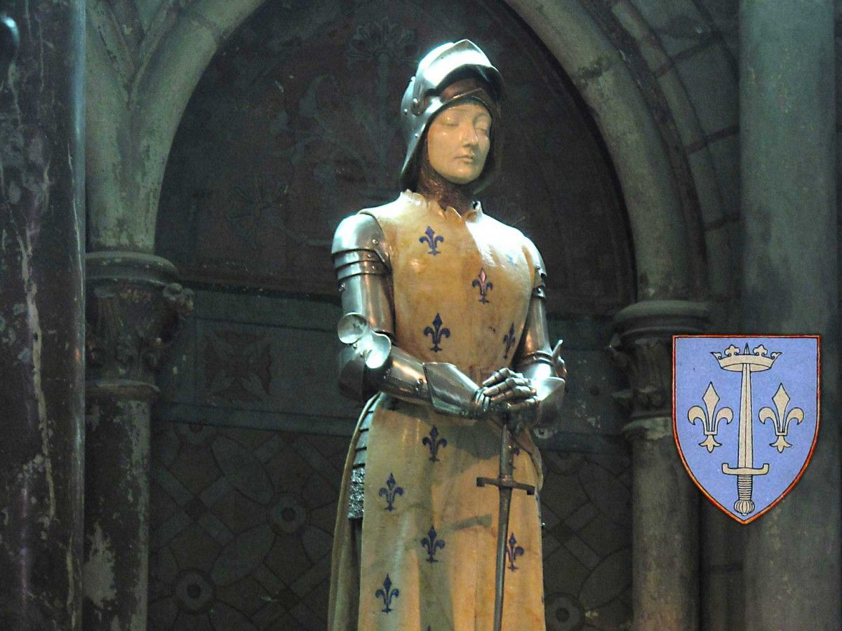 Jeanne d'Arc, also known as Joan of Arc (1412-1431)