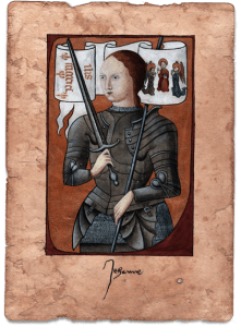 Joan of Arc (Jeanne d'Arc) Collector art