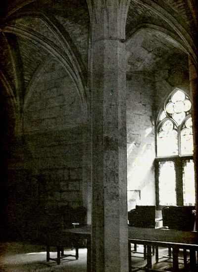 Great Hall of the Palais de Justice. Poitiers