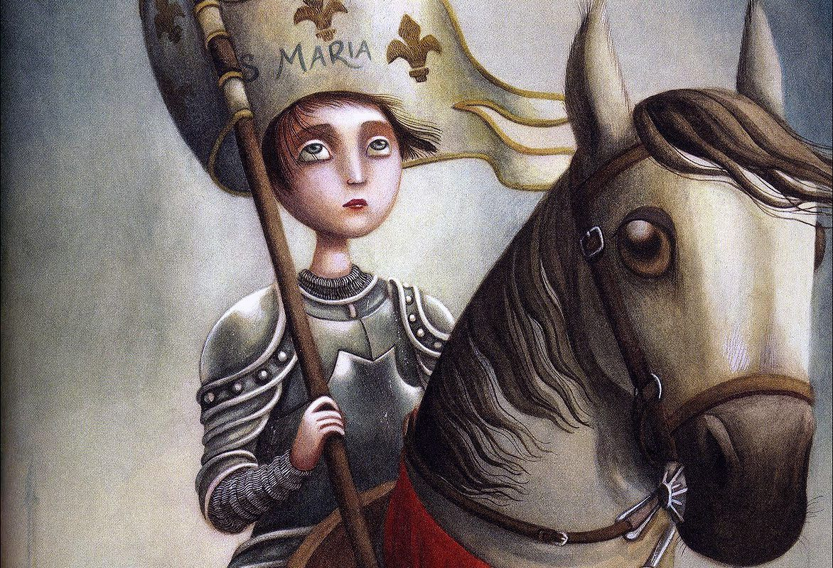 an introduction to the history of jeanne darc the maid of orleans Joan of arc, more properly jeanneton darc, afterwards known in france as jeanne d'arc 1, the maid of orleans, was born between 1410 and 1412, the daughter of jacques darc, peasant.