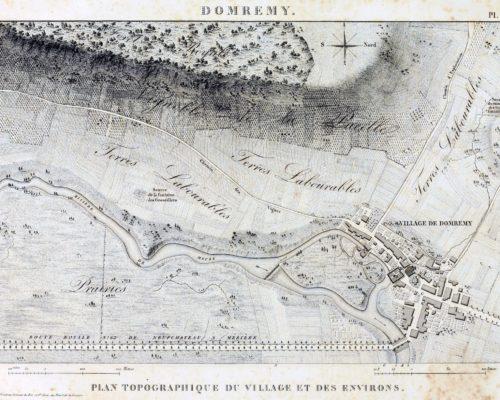 Domremy La Pucelle Map 01