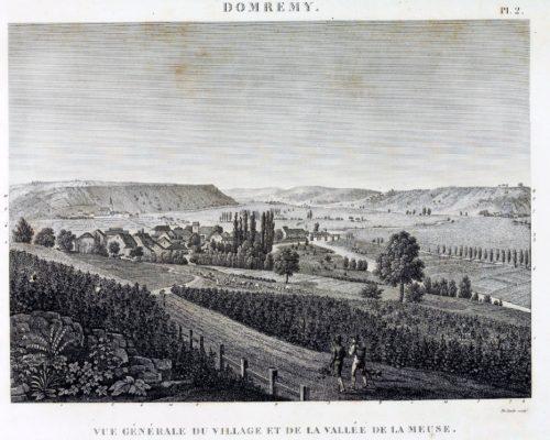 Domremy La Pucelle Map 02