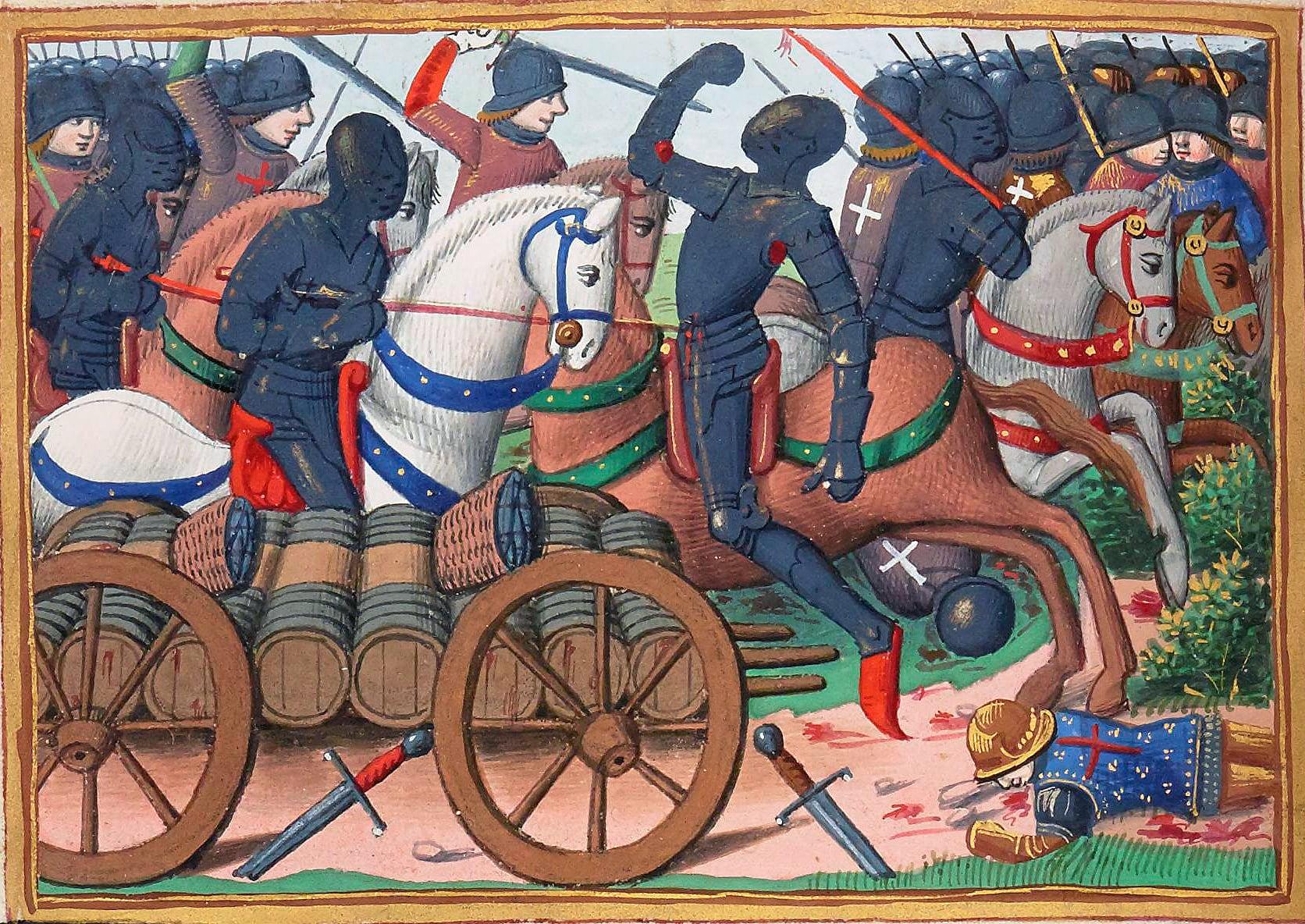 The Battle of the Herrings. 12 Feb 1429
