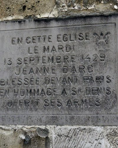 Joan of arc - Abbey Church Of Saint Denis