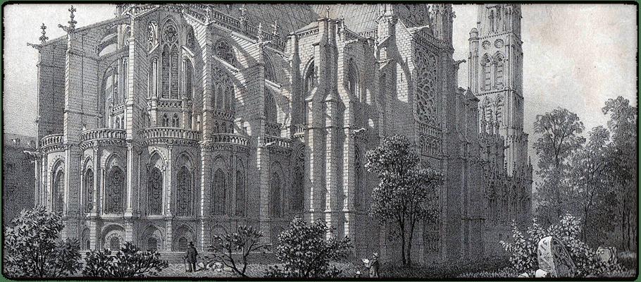Abbey Church Of Saint Denis