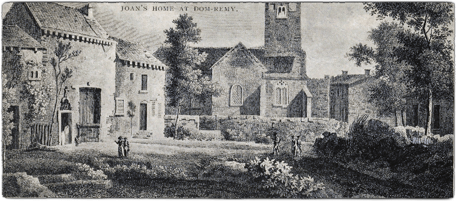 Domrémy, birthplace of Jeanne d'Arc